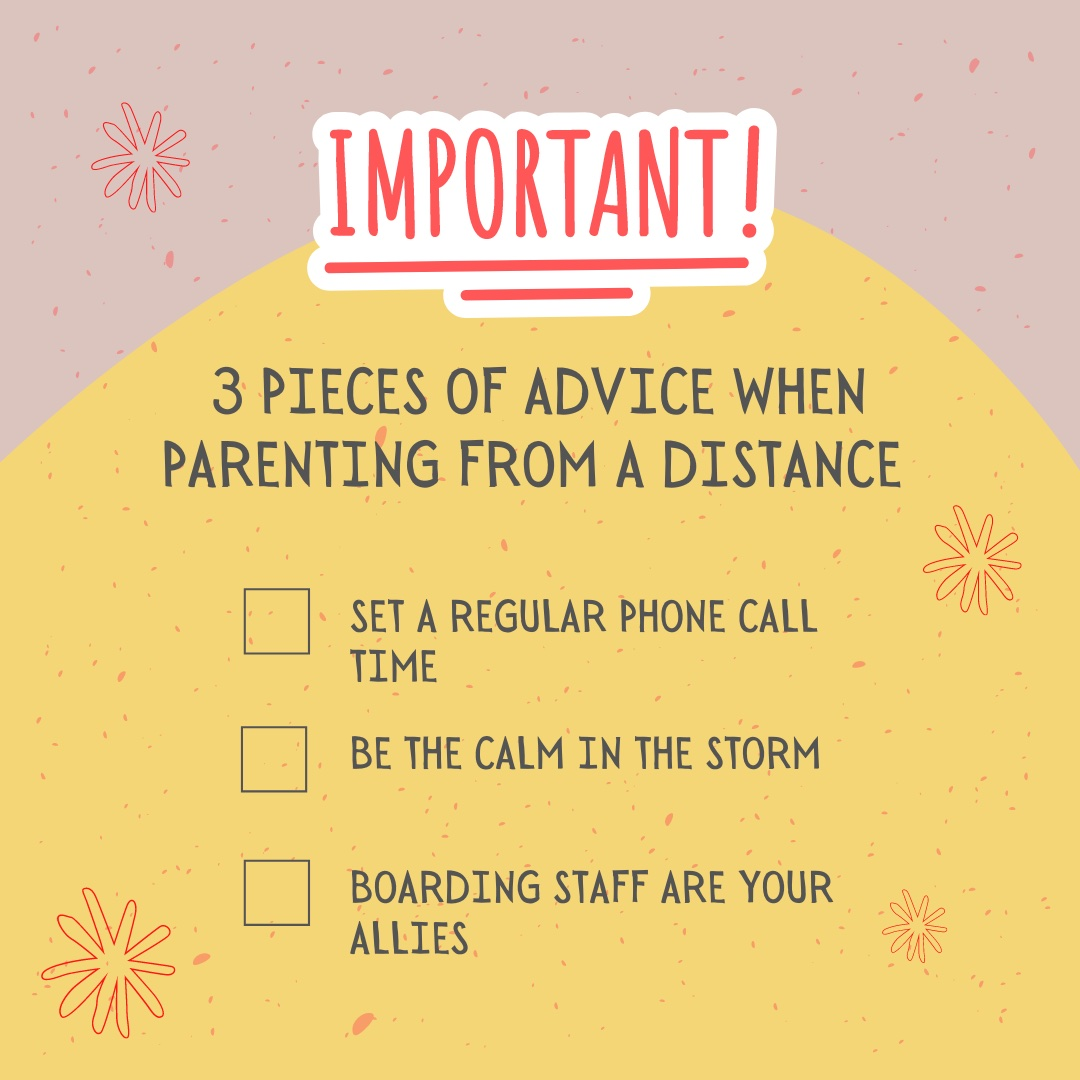 3 Pieces of Advice when Parenting from a Distance
